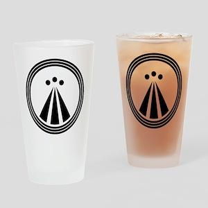 Druid Design Drinking Glass