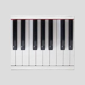 Keyboard 7 Throw Blanket