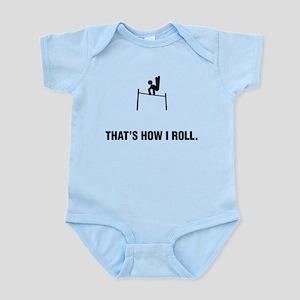 Gymnastic - Horizontal Bars Infant Bodysuit