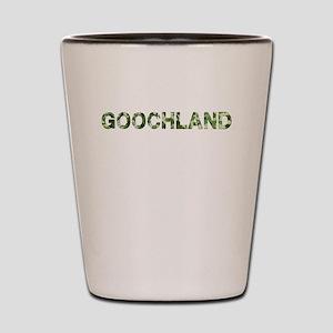 Goochland, Vintage Camo, Shot Glass
