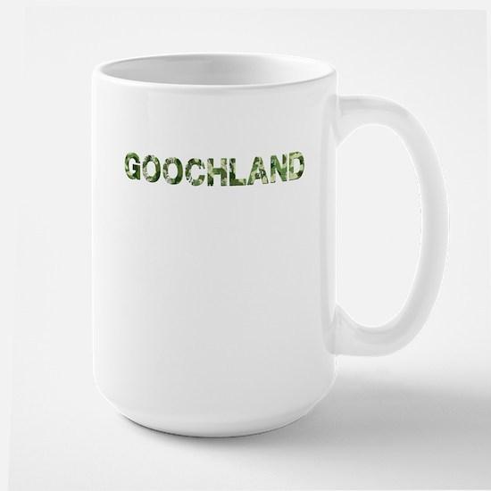 Goochland, Vintage Camo, Large Mug