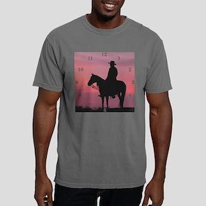 2-Large Clock aspirit.pn Mens Comfort Colors Shirt