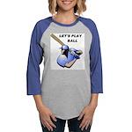 BASEBALL BATTER.jpg Womens Baseball Tee