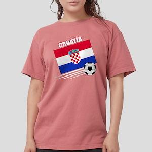 croatia soccer &ball d Womens Comfort Colors Shirt