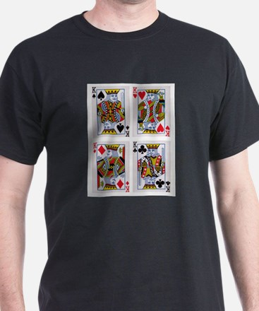 Four Kings Suit Rank T-Shirt