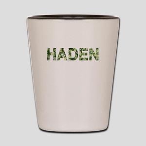 Haden, Vintage Camo, Shot Glass