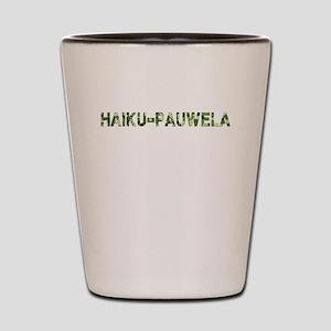 Haiku-Pauwela, Vintage Camo, Shot Glass