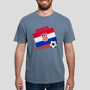 croatia soccer &ball Mens Comfort Colors Shirt