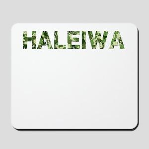 Haleiwa, Vintage Camo, Mousepad