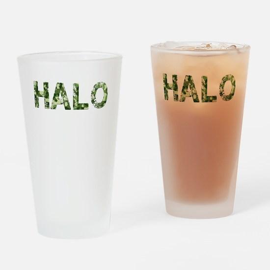 Halo, Vintage Camo, Drinking Glass