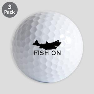 Fish on Golf Balls