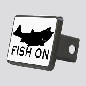 Fish on Rectangular Hitch Cover