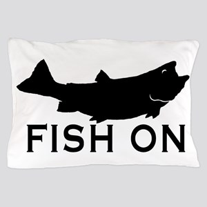 Fish on Pillow Case