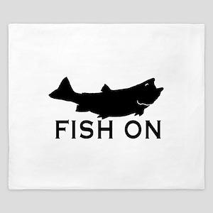 Fish on King Duvet