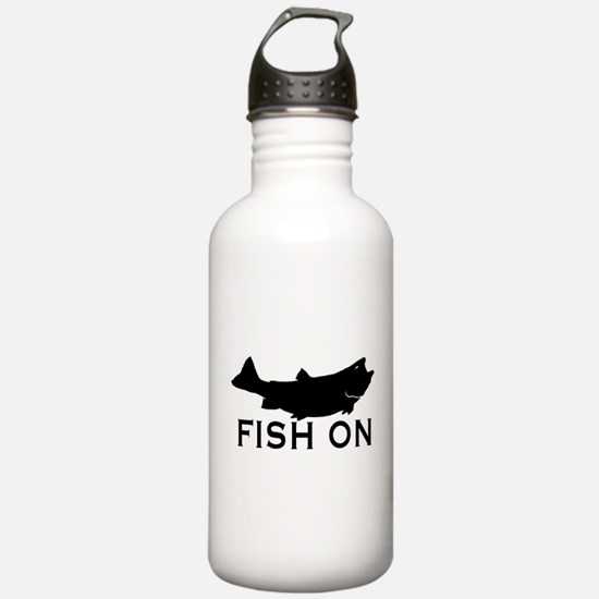 Fish on Water Bottle