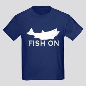 Fish on Kids Dark T-Shirt