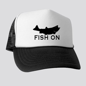 Fish on Trucker Hat