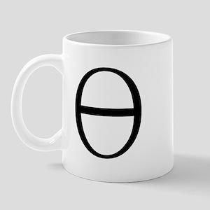 Greek Symbol Theta Mug