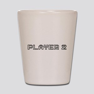 Player 2 Shot Glass