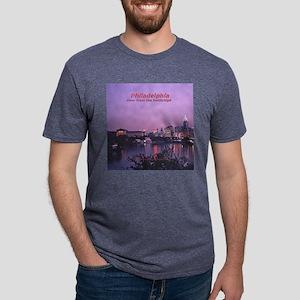 PhilaClock2 Mens Tri-blend T-Shirt