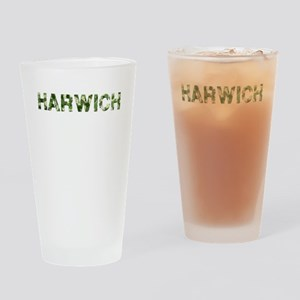 Harwich, Vintage Camo, Drinking Glass