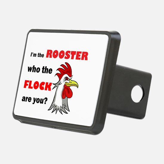 Who the flock tee Hitch Cover