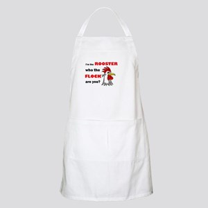 Who the flock tee Apron