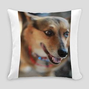 WElsh corgi up closeportrait Everyday Pillow