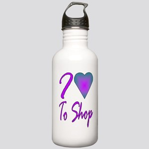 I heart to shop Stainless Water Bottle 1.0L