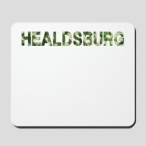 Healdsburg, Vintage Camo, Mousepad