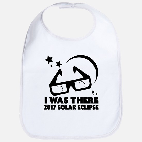 I Was There 2017 Solar Eclipse Baby Bib