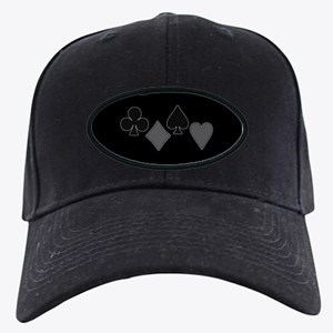 The Suits of Poker Black Cap