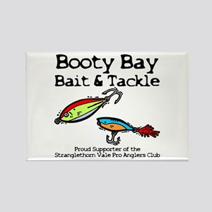 Booty Bay Bait & Tackle Rectangle Magnet Magne