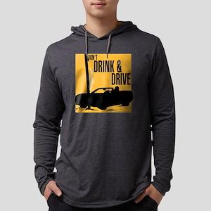 10x10_apparel dontdrinkanddrive  Mens Hooded Shirt
