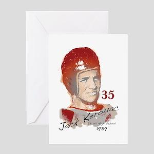 Jack Kerouac Greeting Card