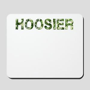 Hoosier, Vintage Camo, Mousepad