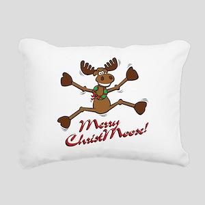 christmoose Rectangular Canvas Pillow