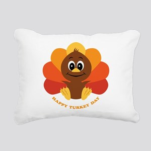 baby_turkey2 Rectangular Canvas Pillow