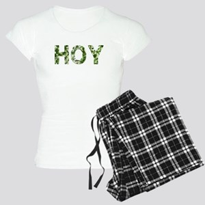 Hoy, Vintage Camo, Women's Light Pajamas