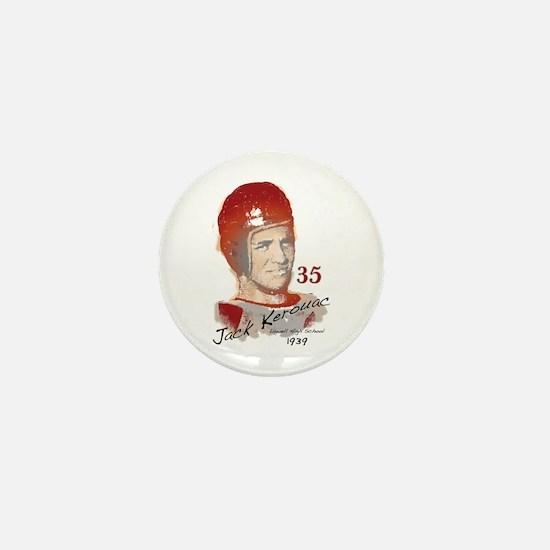 Jack Kerouac Mini Button