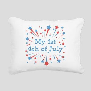 my1st_4thjuly Rectangular Canvas Pillow