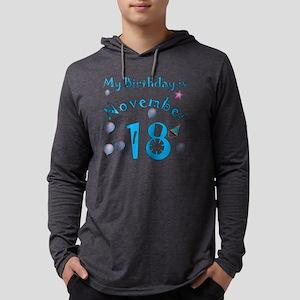 november 18 copy Mens Hooded Shirt