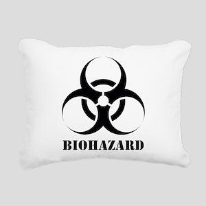 Biohazard Rectangular Canvas Pillow
