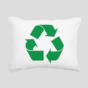 recycle_g Rectangular Canvas Pillow