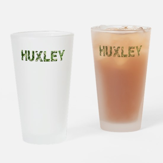 Huxley, Vintage Camo, Drinking Glass