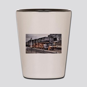 Vintage Locomotive Steam Train Shot Glass