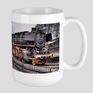 Vintage Locomotive Steam Train Large Mug