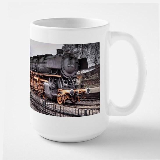 Vintage Locomotive Steam Train Large Mug