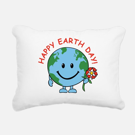 earth_funny_round.png Rectangular Canvas Pillow