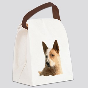 Cattle Dog Canvas Lunch Bag